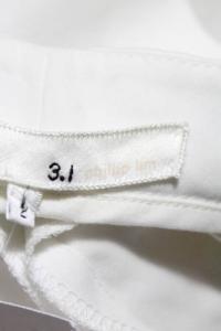 Phillip Lim white shorts gold trim Angle4