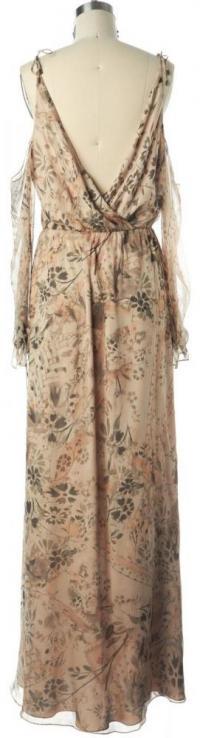 HAUTE HIPPIE NWT Floral Silk Wrap Dress Size M Angle2