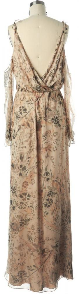 HAUTE HIPPIE NWT Floral Silk Wrap Dress Size M