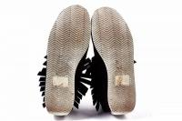 RAG & BONE Black Suede Leather Moccasin Size 8 Angle4