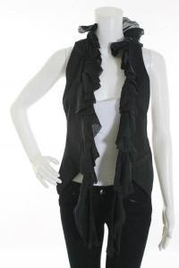 Elizabeth and James ruffle vest