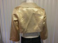 Camilla and Marc gold blazer Angle2