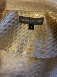 Camilla and Marc gold blazer Angle3