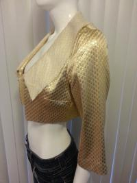 Camilla and Marc gold blazer Angle4