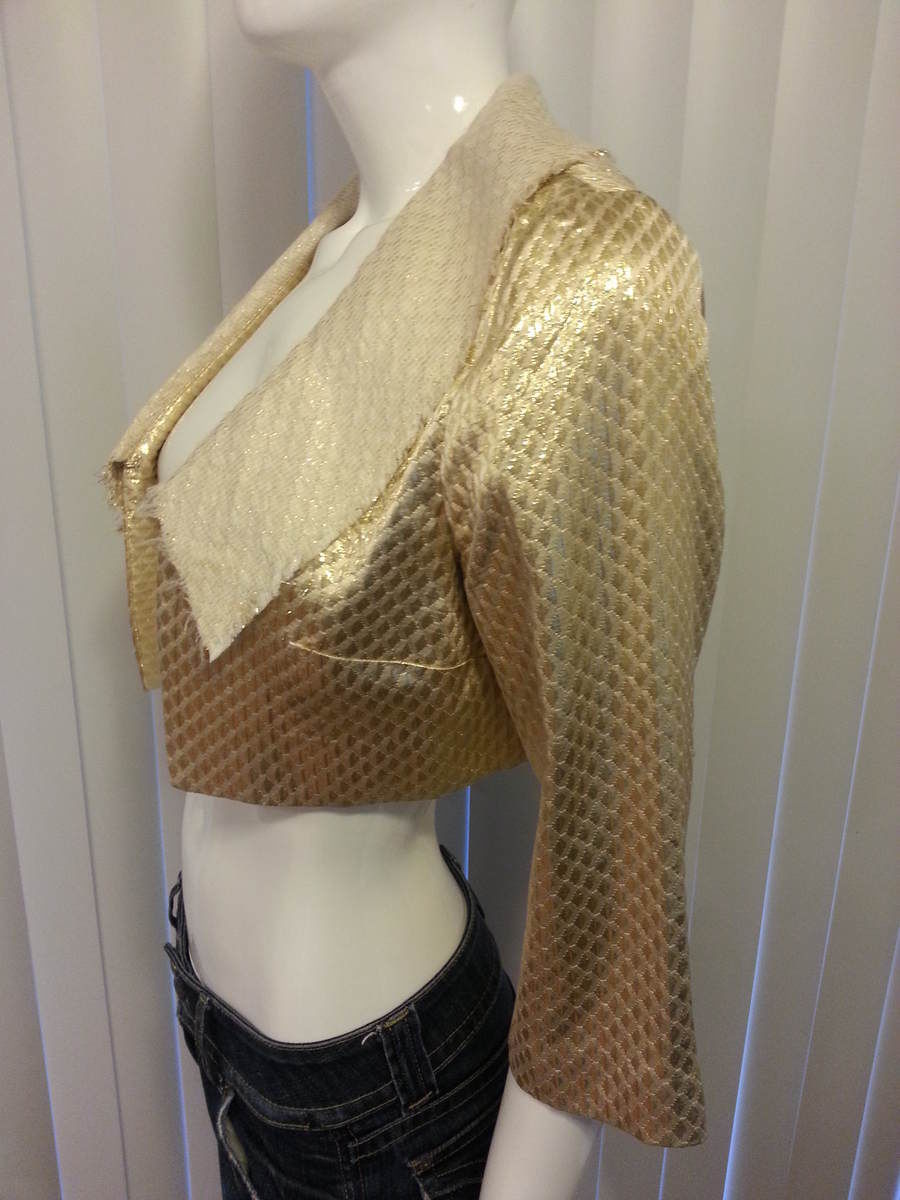 Camilla and Marc gold blazer