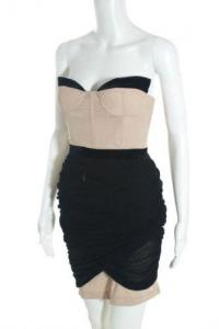 Alexander Wang Nude Strapless Sweetheart  Stretch  Angle2