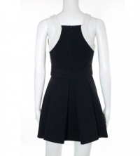 Robert Rodriguez Black White A Line Dress Size 4 Angle3