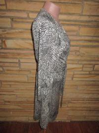 NEW DVF Silk Knit Wrap Around Dress Sz 8  Angle3