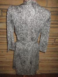 NEW DVF Silk Knit Wrap Around Dress Sz 8  Angle4
