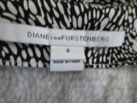 NEW DVF Silk Knit Wrap Around Dress Sz 8  Angle6