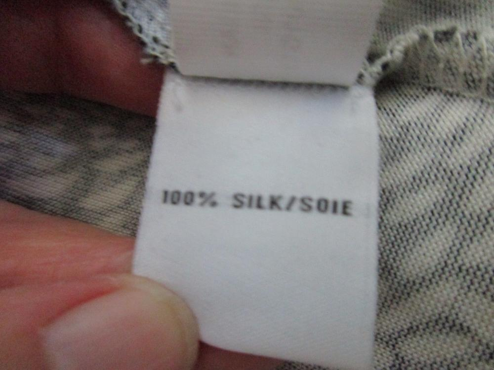 NEW DVF Silk Knit Wrap Around Dress Sz 8