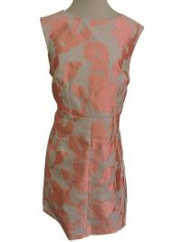 DVF DRESS sz.14  ROSE JACQUARD CAPREENA MINI