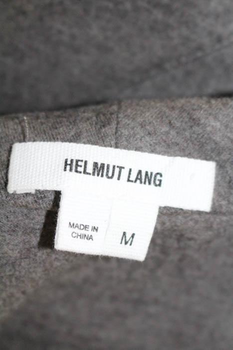 Helmut Lang Grey Wool leeveless Crew Neck Shift Dr
