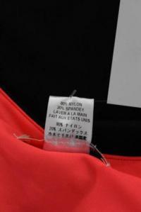 Mara Hoffman Black Pink Knit Bodycon Dress Size XS Angle4