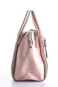 Rebecca Minkoff Light Pink Leather Perry Satchel Angle2