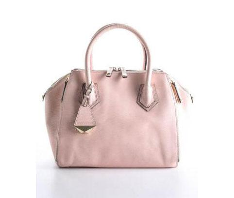 Rebecca Minkoff Light Pink Leather Perry Satchel