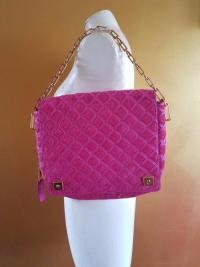 RUNWAY MARC JACOBS LATTICE PINK CALF HAIR LEATHER Angle2