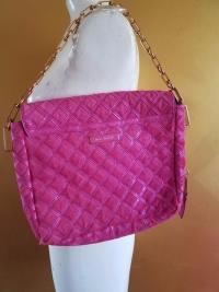 RUNWAY MARC JACOBS LATTICE PINK CALF HAIR LEATHER Angle5