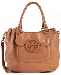 TORY BURCH Brown Leather Shoulder / handbag