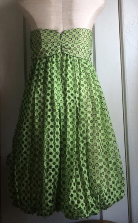 Tracy Reese Strapless Bubble Dress