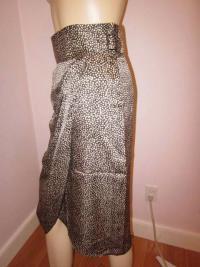 Gorgeous Cheetah print Phillip Lim Wrap Skirt Angle2