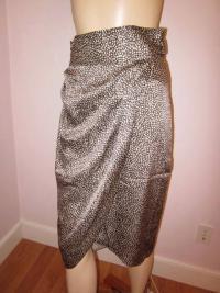Gorgeous Cheetah print Phillip Lim Wrap Skirt Angle3