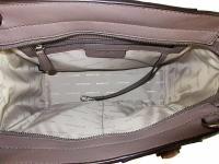 MICHAEL KORS SELMA Studded Cinder  MD Satchel Bag Angle2