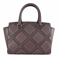 MICHAEL KORS SELMA Studded Cinder  MD Satchel Bag Angle4