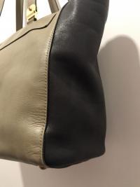 MARNI Bag  Black Olive Tote Shoulder Front Pocket  Angle7