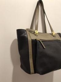 MARNI Bag  Black Olive Tote Shoulder Front Pocket  Angle8