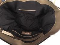 MARNI Bag  Black Olive Tote Shoulder Front Pocket  Angle10