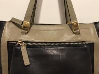 MARNI Bag  Black Olive Tote Shoulder Front Pocket  Angle11