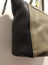 MARNI Bag  Black Olive Tote Shoulder Front Pocket  Angle12