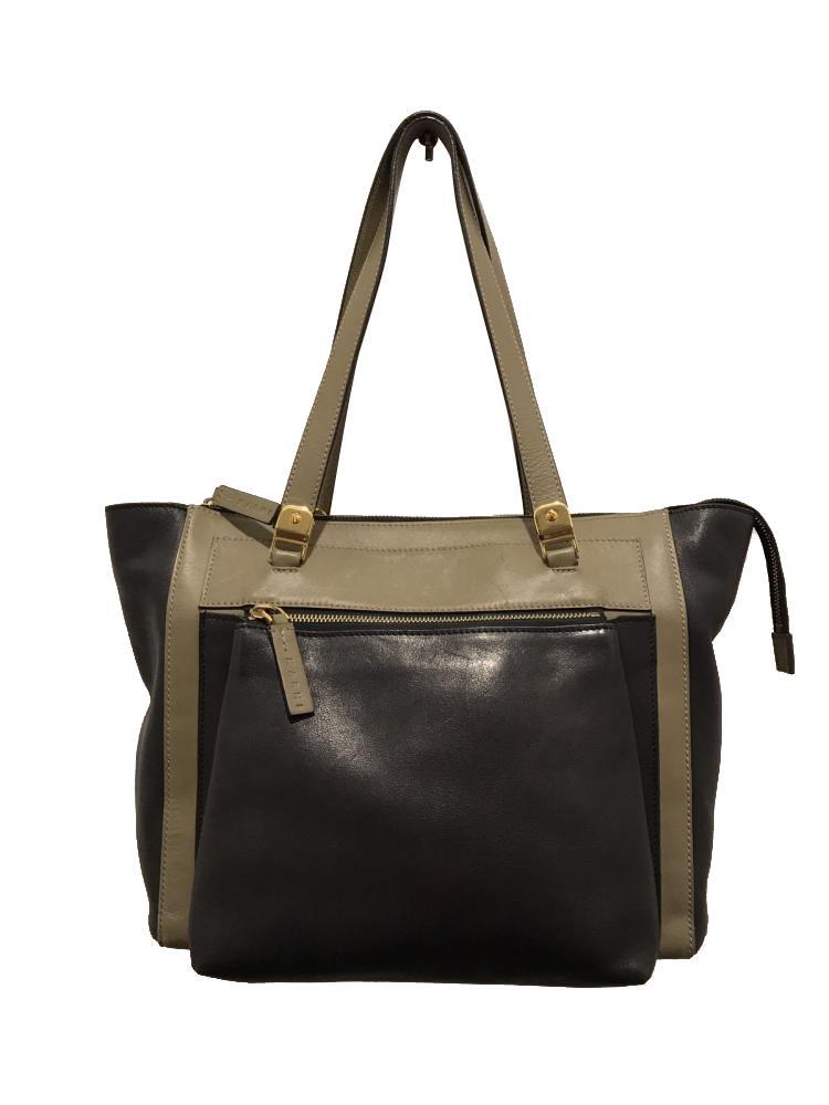 MARNI Bag  Black Olive Tote Shoulder Front Pocket