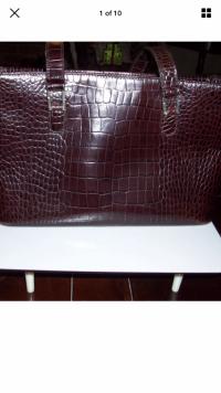 RL large croc bag