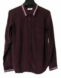 Dark Purple Equipment Blouse