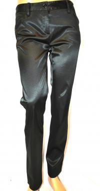Black Dressy Nylon Pants