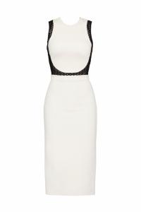 David Koma Long and Sleek Pencil Dress Angle1