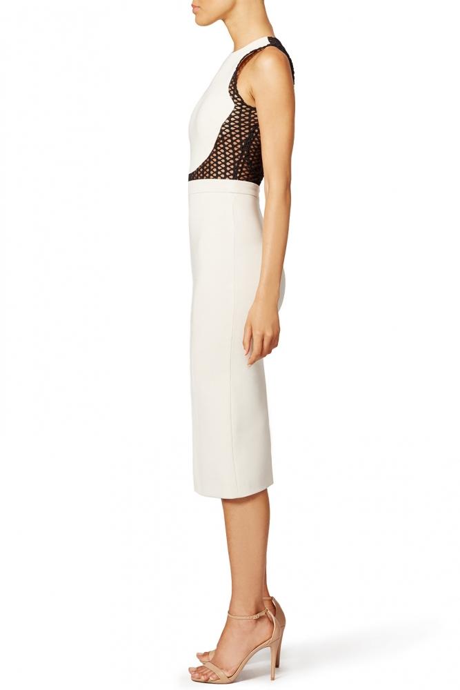 David Koma Long and Sleek Pencil Dress