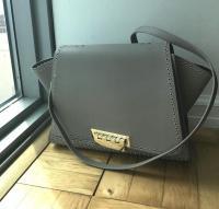 Zac Posen Gold studded handbag - missing handles Angle7