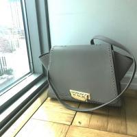 Zac Posen Gold studded handbag - missing handles Angle5