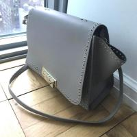 Zac Posen Gold studded handbag - missing handles Angle6