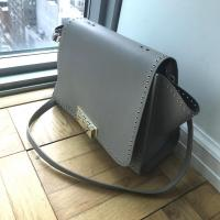 Zac Posen Gold studded handbag - missing handles Angle8