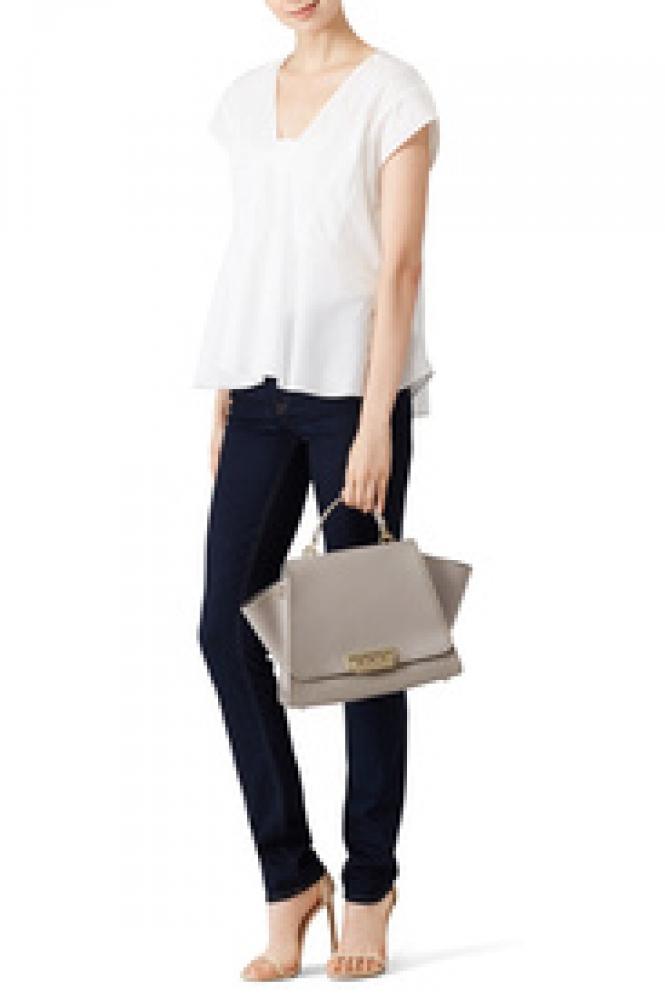 Zac Posen Gold studded handbag - missing handles