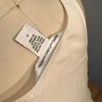 White Cotton Diane Von Furstenberg  sleeveless shi Angle4