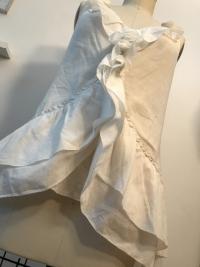 White Cotton Diane Von Furstenberg  sleeveless shi Angle5