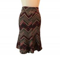 Diane Von Furstenberg Navajo Chevron Striped Trump
