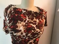Escada Printed Dress Angle3
