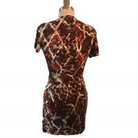 Escada Printed Dress Angle1