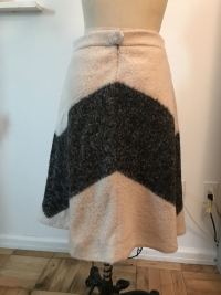 ADAM Adam lippes beige gray print wool mohair  A-L Angle4